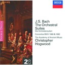Christopher Hogwood / The Academy Of Ancient Music - Bach, j.s.: orchestral suites 1-4/2 concerti
