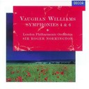 Ralph Vaughan Williams / Roger Norrington / The London Symphony Orchestra - Vaughan williams: symphonies nos.4 & 6