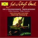 Jean-Sébastien Bach / The English Concert / Trevor Pinnock - Bach: the 3 violin concertos; triple concerto