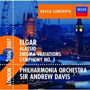 Sir Andrew Davis / Sir Edward Elgar / The Philharmonia Orchestra - Elgar: symphony no.1/enigma variations