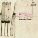 Georg Philipp Telemann / Koln Musica Antiqua / Reinhard Goebel - Telemann: flute quartets