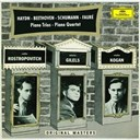 Emil Gilels / Gabriel Faur&eacute; / Joseph Haydn / Leonid Kogan / Ludwig Van Beethoven / Mstislav Rostropovitch / Robert Schumann / Rudolf Barshai - Haydn: piano trios h.xv nos.16 &amp; 19 / beethoven: piano trios woo38 &amp; op.97 / schumann: piano trio op.63 / faur&eacute;: piano quartet op.15