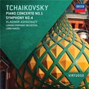 Lorin Maazel / Piotr Ilyitch Tcha&iuml;kovski / The London Symphony Orchestra / The Philharmonia Orchestra / Vladimir Ashkenazy - Tchaikovsky: piano concerto no.1; symphony no.4