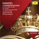 George Frederic Haendel / The English Concert - Handel: 4 coronation anthems including &quot;zadok the priest&quot;; dixit dominus