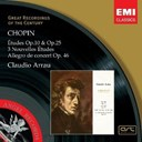 Claudio Arrau - Chopin: études op.10 and op.25