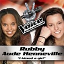 Aude Henneville / Rubby - I kissed a girl - the voice : la plus belle voix