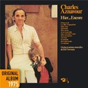 Charles Aznavour - Hier... encore - original album 1975