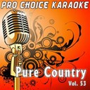 Pro Choice Karaoke - Pure country, vol. 53 (the greatest country karaoke hits)