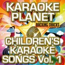 A-Type Player - Children's karaoke songs , vol. 1 (karaoke version)