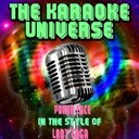 The Karaoke Universe - Poker face (karaoke version) (in the style of lady gaga)