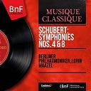 L'orchestre Philharmonique De Berlin / Lorin Maazel - Schubert: symphonies nos. 4 & 8 (mono version)