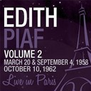 Édith Piaf - Live in paris, vol. 2 - edith piaf