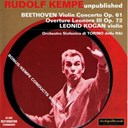 Leonid Kogan / Orchestra Sinfonica Di Torino Della Rai - Ludwig van beethoven : violin concerto op.61 &amp; overture leonore iii op.72