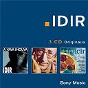 Idir - Coffret 3 cd identités/a vava inouva/chasseurs de lumières