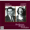 Elisabeth Leonskaja / Philippe Hirshhorn - Beethoven, brahms &amp; prokofiev: hirshhorn &amp; leonskaja in concert at the concertgebouw, amsterdam, 1993