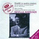 Antonio Vivaldi / Orchestre Academy Of St. Martin In The Fields / Sir Neville Marriner - Vivaldi: the four seasons, etc.